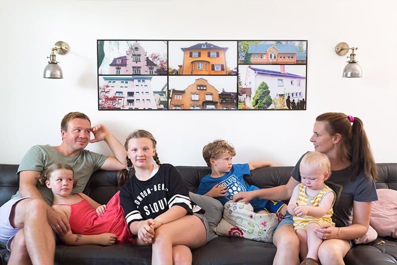 Familienchancen zu Gast bei Familie Kahl